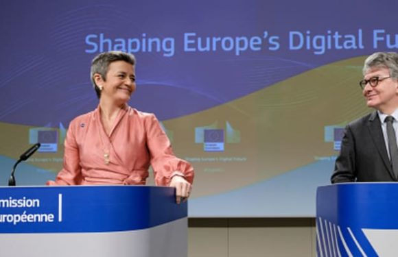 EU launches plan to regulate A.I., taking aim at Silicon Valley giants