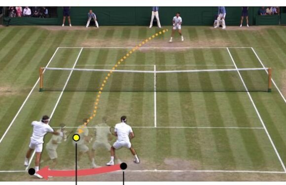 AI player creates strikingly realistic virtual tennis matches based on real players