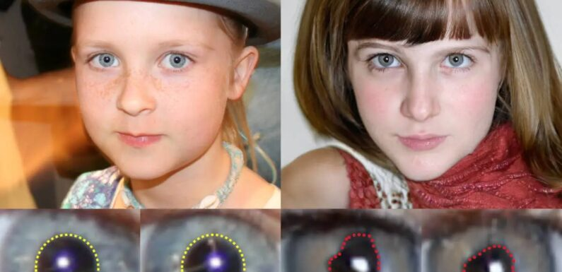 Detecting fake AI-generated faces by looking for irregular pupils